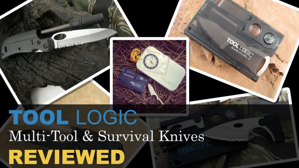 Tool Logic multi-tools and survival knives reviews