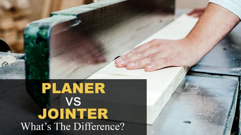 Planer vs. Jointer: What's the Difference?