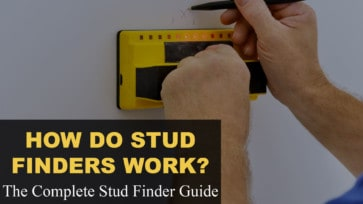 How stud finders work, the complete stud finder guide